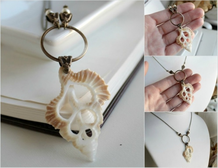 seashell_necklace_by_harlequinromantics-d4pxtry Seashell Jewelry as a Natural Gift