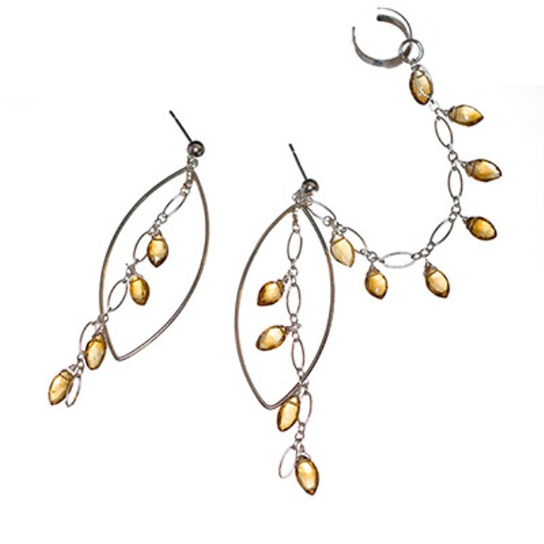 slave_citr_chand.400 Slave Earrings For Catchier Ears & Fashionable Styles ...