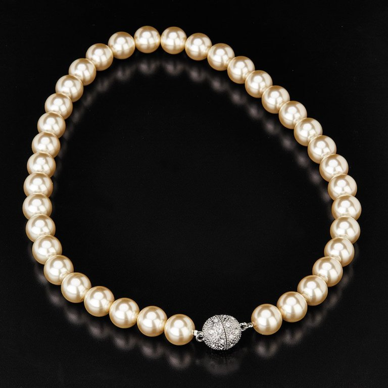 stunning-faux-pearl-necklace-with-magnetic-clasp-supplied-with-a-free-presentation-box-p1017-2274_zoom Top 7 Types of Necklace Clasps