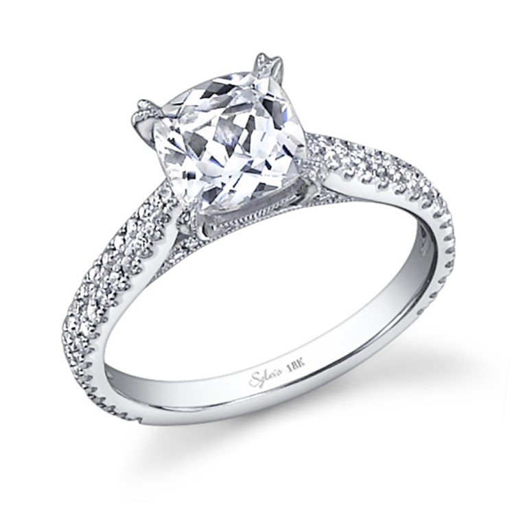 sy566-0053_1_1 Cushion Cut Engagement Rings for Beautifying Her Finger