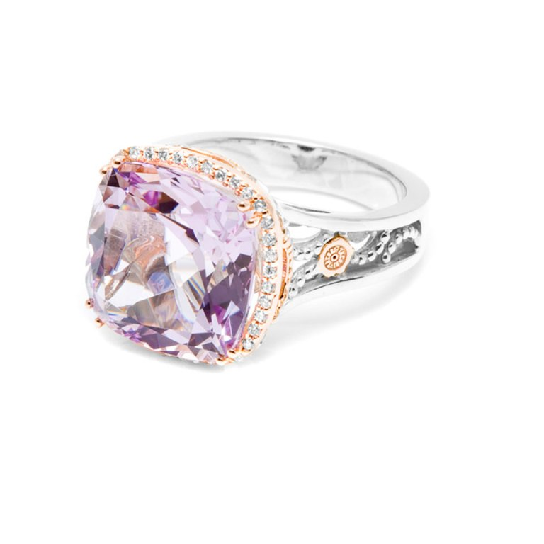 "tacori-rose-gold-diamond-rings-ic5iboap Top 10 Facts of Tacori Jewelry ""The Jewel of Rich, Famous & Stars"""