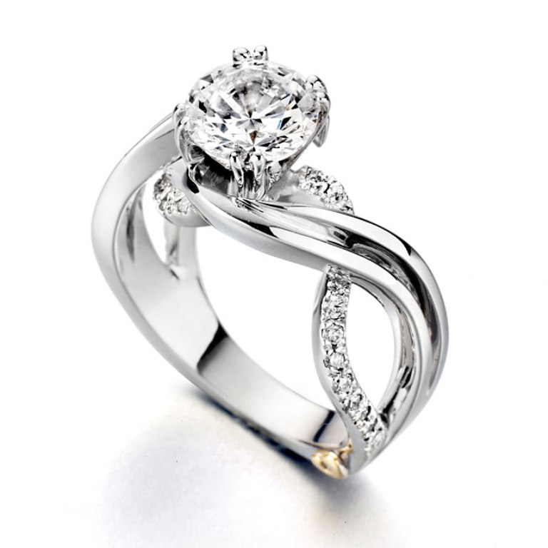 "unique-designer-engagement-rings-520 Top 10 Facts of Tacori Jewelry ""The Jewel of Rich, Famous & Stars"""