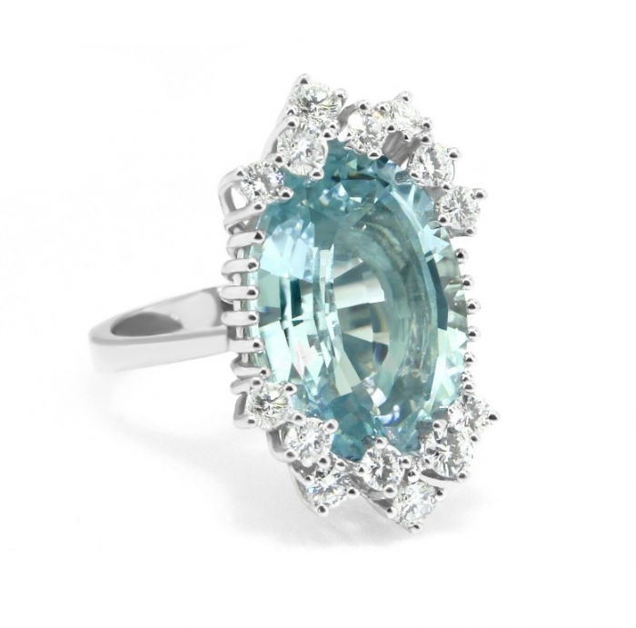 vintage_aquamarine_ring_14k_white_gold_diamonds Top 10 Non-Diamond Engagement Ring Types for a More Unique Proposal