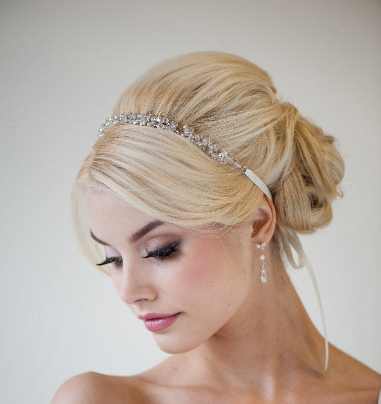 """wedding-hairstyles-18-01292014 """"Wedding Headbands"""" The Best Choice for Brides, Why?!"""