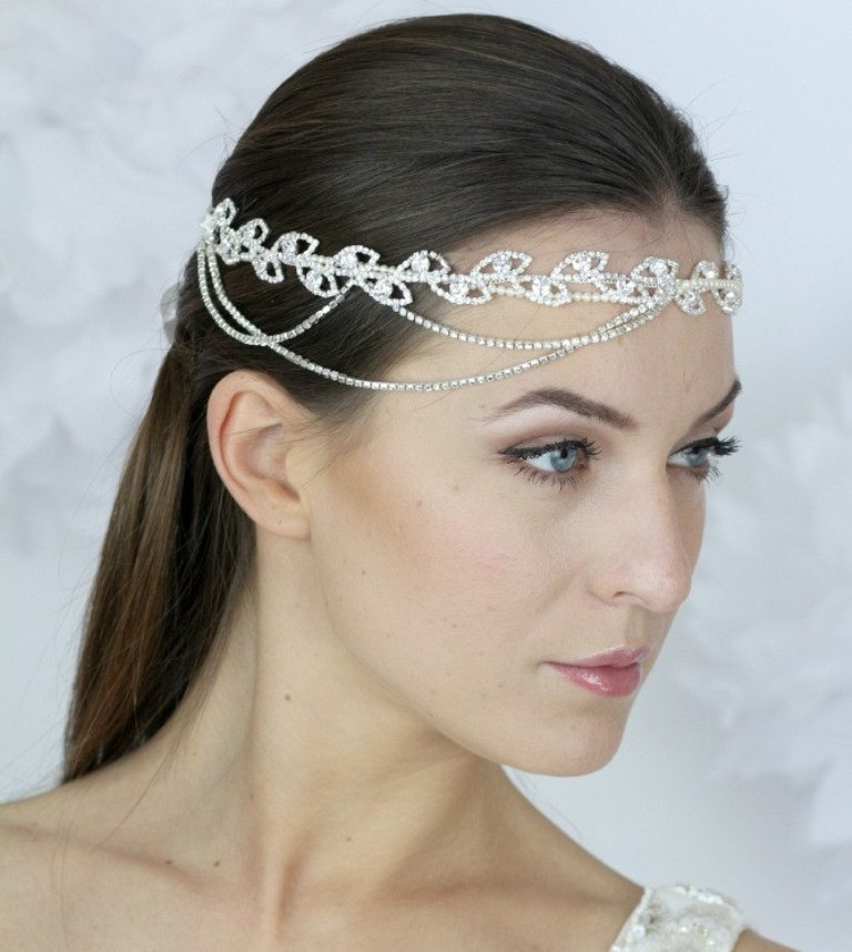 "wedding-headband-halo-design-ideas ""Wedding Headbands"" The Best Choice for Brides, Why?!"