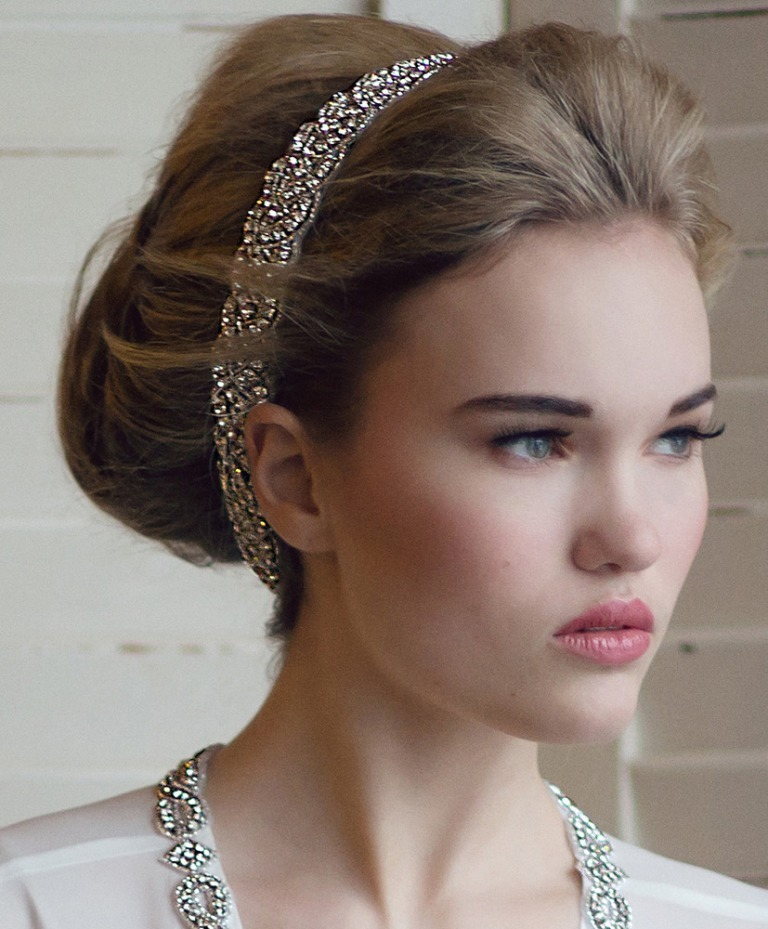 "wedding-tiaras-and-headbands ""Wedding Headbands"" The Best Choice for Brides, Why?!"