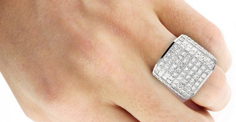 Photo of Men's Diamond Rings for More Luxury & Elegance