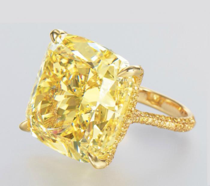 yellow-colored-diamond-ring The Rarest Yellow Diamonds & Their Breathtaking Beauty