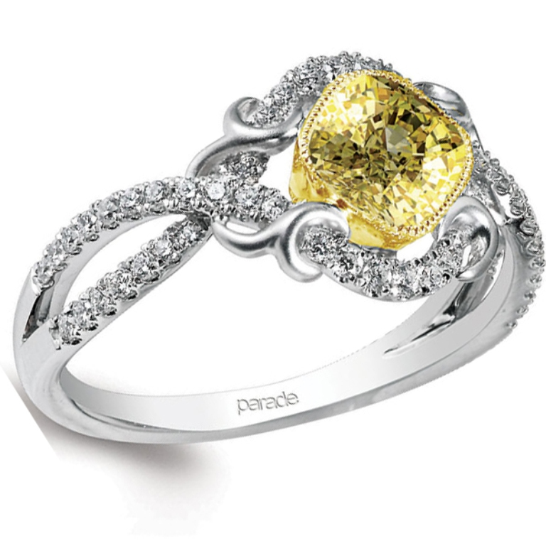 yellow-diamond-engagement-rings-designs The Rarest Yellow Diamonds & Their Breathtaking Beauty