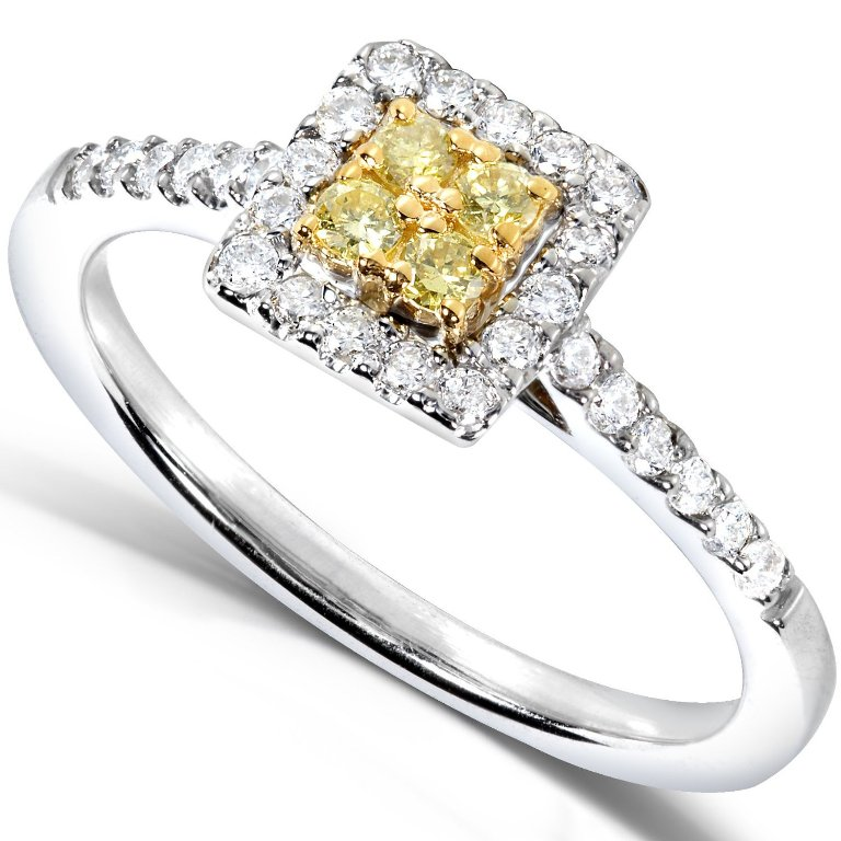 yellow-topaz-engagement-rings-dwdgcw43 Top 10 Non-Diamond Engagement Ring Types for a More Unique Proposal