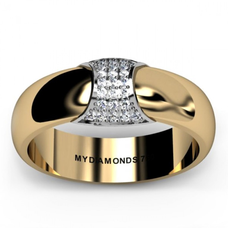 zeus-mens-diamond-weddin-ring-2 Men's Diamond Rings for More Luxury & Elegance