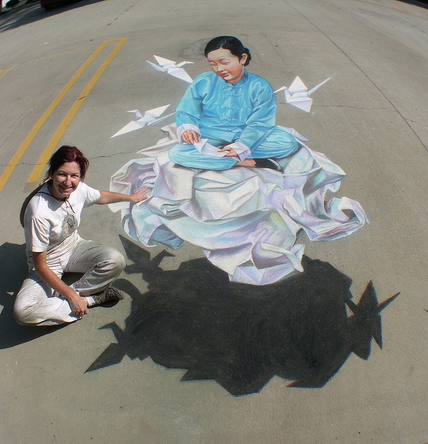 2549090064_a1475ec1ab_z The Incredible Art of 3D Street Painting