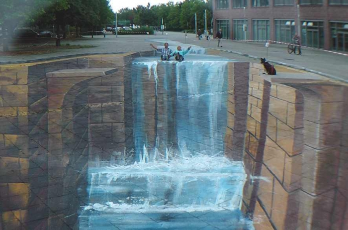 3D-Street-Painting-by-Gregor-Wosik-4 The Incredible Art of 3D Street Painting