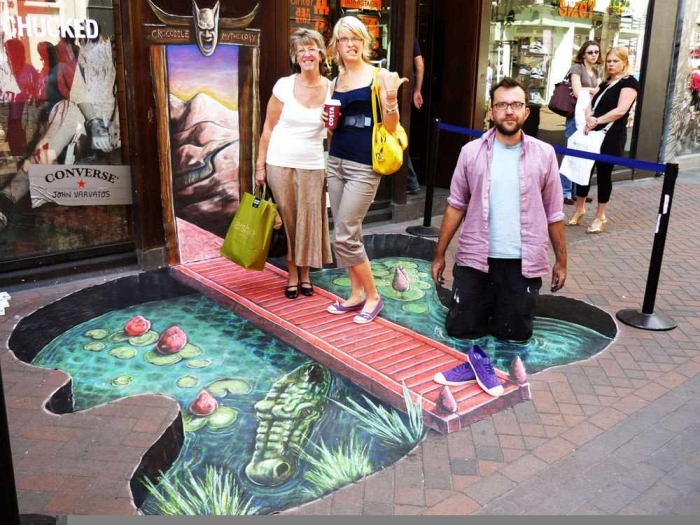 3d-street-art The Incredible Art of 3D Street Painting