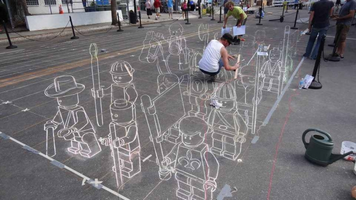 4 The Incredible Art of 3D Street Painting