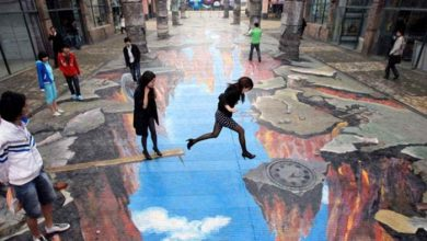 Photo of The Incredible Art of 3D Street Painting