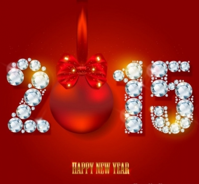 2015-New-Year-Merry-Christmas-Cards Best 25 Happy New Year Greeting Cards