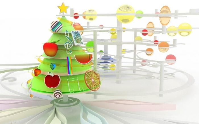 3D-Merry-Christmas-2015-Tree-Images Best 20 Merry Christmas Greeting Cards ... [Exclusive Designs]