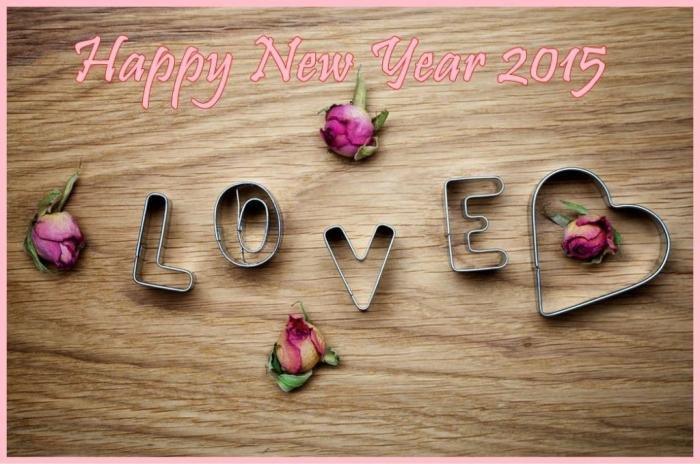 Beautiful-love-wallpaper-for-a-happy-new-year-2015 Best 25 Happy New Year Greeting Cards