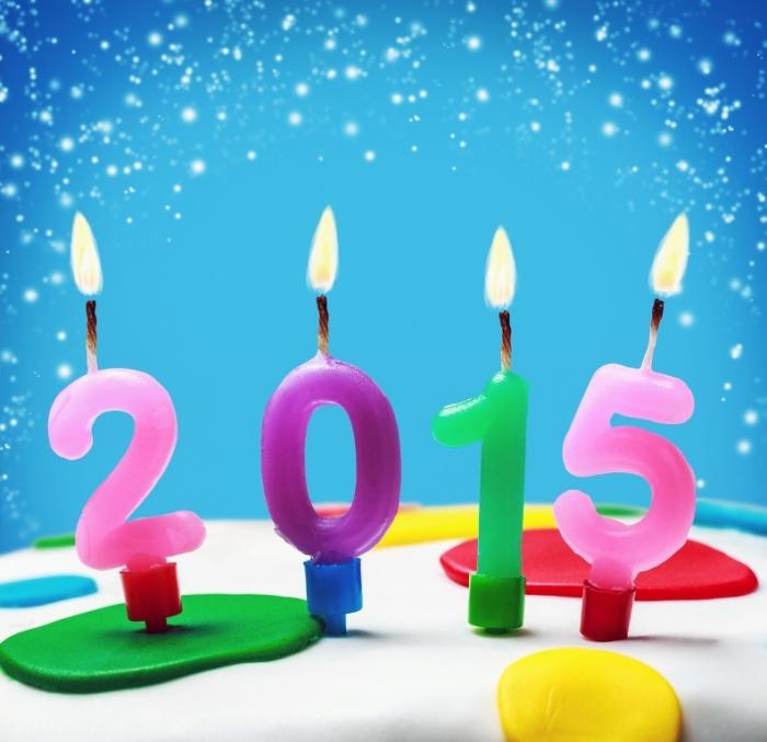 Feliz-Año-Nuevo-2015-velitas-de-colores Best 25 Happy New Year Greeting Cards