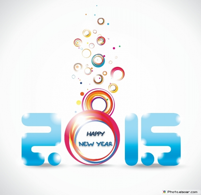Happy-New-Year-2015-Awesome-Design Best 25 Happy New Year Greeting Cards