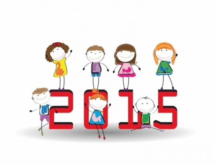 Happy-New-Year-2015-Kids-Wallpapers_5 Best 25 Happy New Year Greeting Cards
