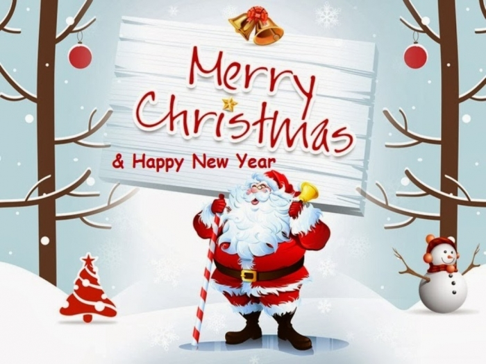 Merry-Christmas-2013-and-New-Year-2014-Wallpapers-free-Download Best 20 Merry Christmas Greeting Cards ... [Exclusive Designs]