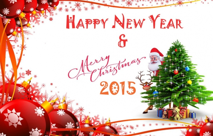 Merry-Christmas-Happy-New-Year-2015-Images-3 Best 20 Merry Christmas Greeting Cards ... [Exclusive Designs]