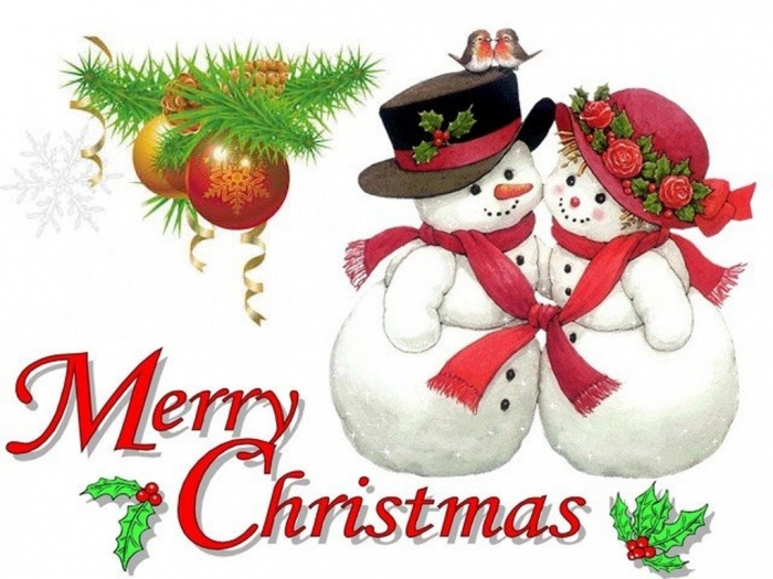 Merry-Christmas-by-Ruth-Morehead-Greeting-Card Best 20 Merry Christmas Greeting Cards ... [Exclusive Designs]