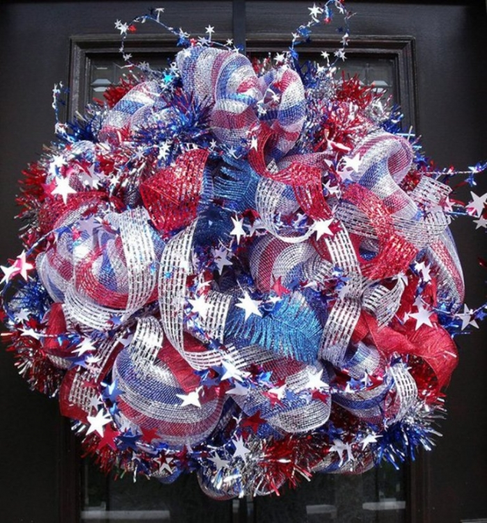 Patriotic-Wreaths-Etsy-Memorial-Day-Fourth-of-July-Independence-Day-1 Memorial Day 2018 Party Ideas ... [UPDATED]