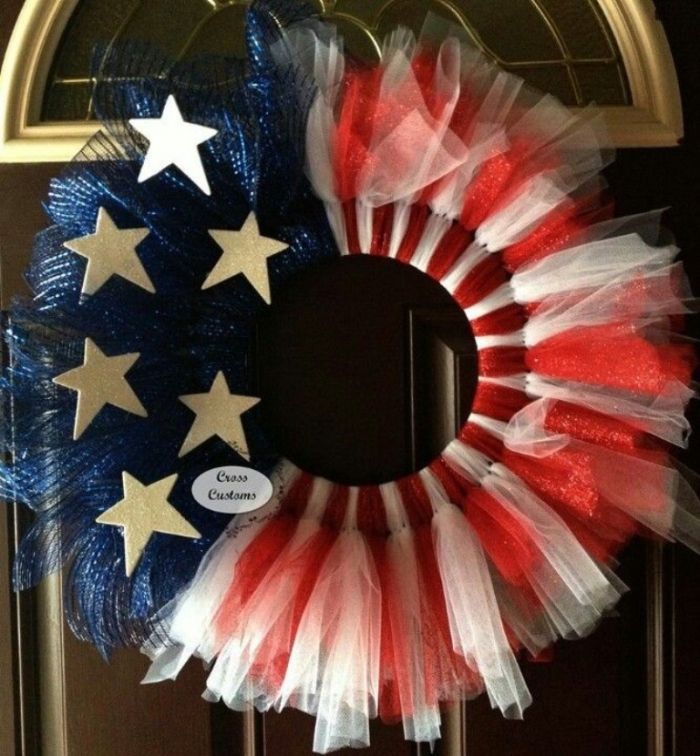 cute-patriotic-mesh-tutu-wreath-for-memorial-day-party-f85923 Memorial Day 2018 Party Ideas ... [UPDATED]