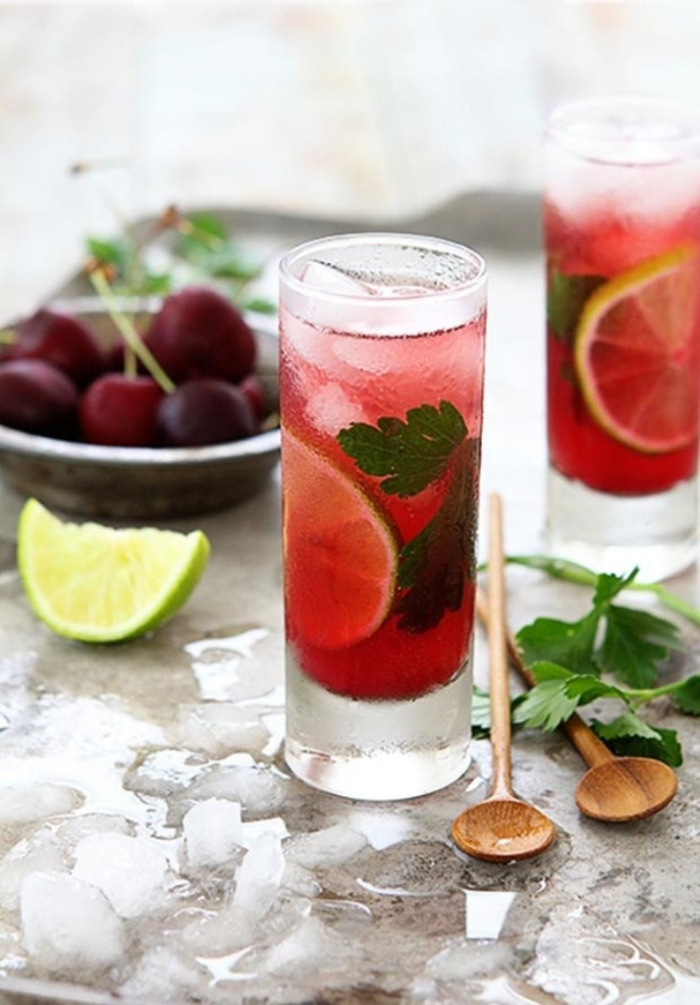 easy-party-food-ideas-cherry-cilantro-mojito-620x890 Best 10 Labor Day Ideas for Family