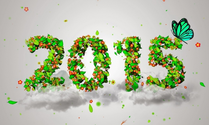 new-year-2015-flower-cards Best 25 Happy New Year Greeting Cards