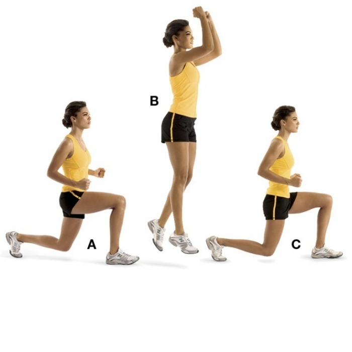 0904-lunge-jumps_0 How to Gain Weight Fast, Easily & Healthily