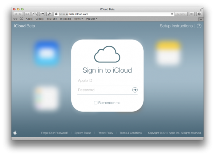 1-iCloud-Beta-redesign1 How Can I Track a Cell Phone?