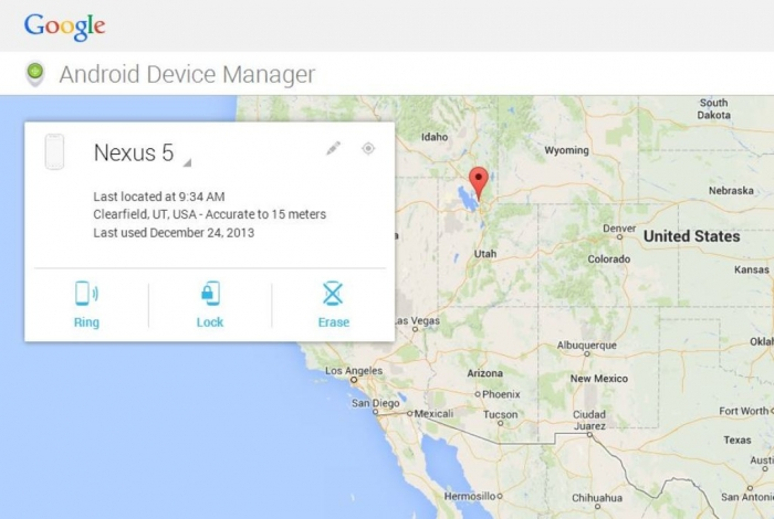 2-android-device-manager-web How Can I Track a Cell Phone?