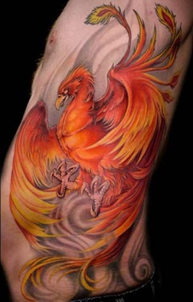 47-Phoenix-tattoo New Facts You Don't Know about the Legend of the Phoenix
