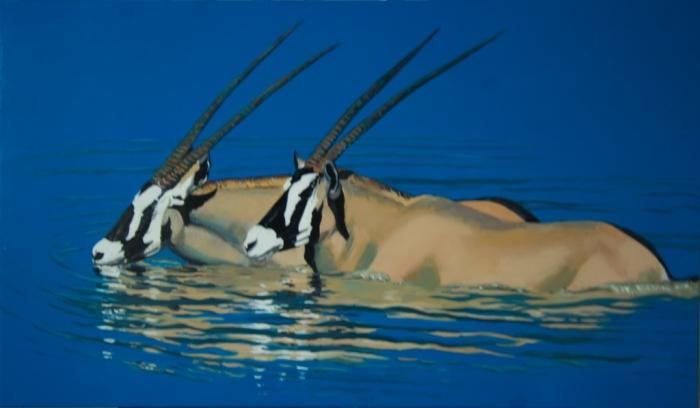 6-oryx-botswanam The Arabian Oryx Returns Back to Life