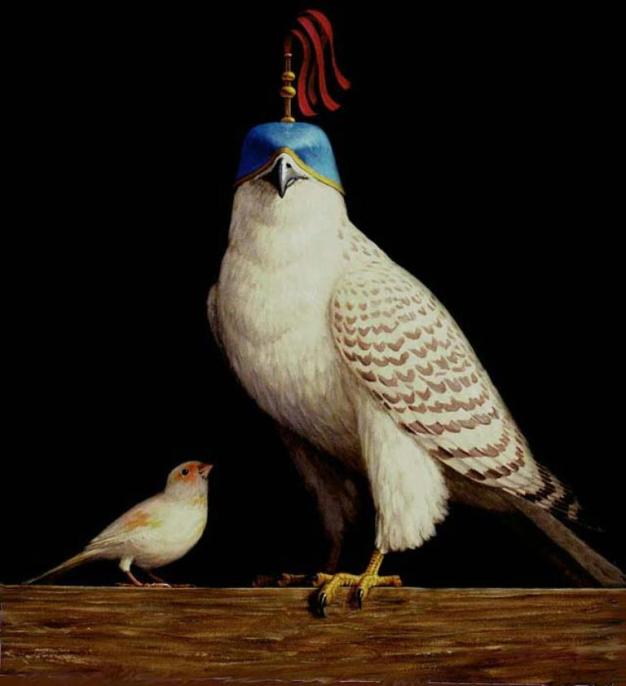 Brian-McCarthy Rare White Falcons You Have Never Seen Before