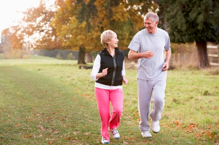Couple-power-walking How to Lower Your Blood Pressure