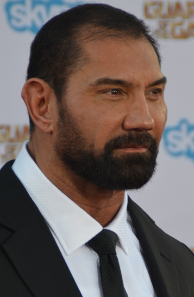 Dave_Batista_-_Guardians_of_the_Galaxy_premiere_-_July_2014_cropped Top 10 Most Famous Wrestlers in WWE
