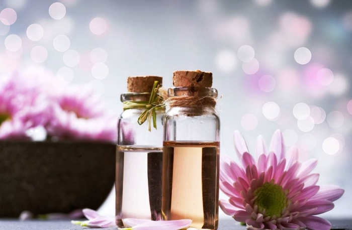 Essential-oil-bottle How to Make My Hair Grow Faster