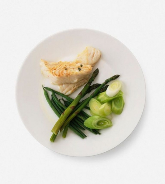 Fish-Leeks-Asparagus-and-green-beans How to Lower Your Blood Pressure