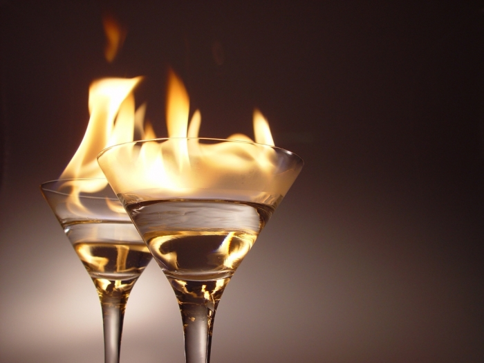 Flaming_cocktails How to Lose Weight Fast & Easy