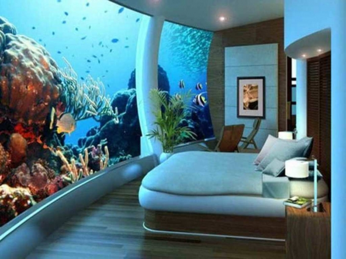 Modern-Home How to Decorate Your Boring Fish Tank