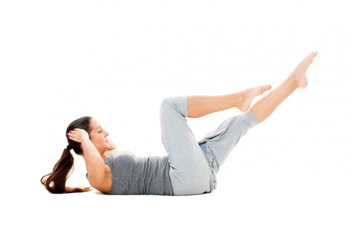 Obliques-Bicycle-Crunches How to Gain Weight Fast, Easily & Healthily