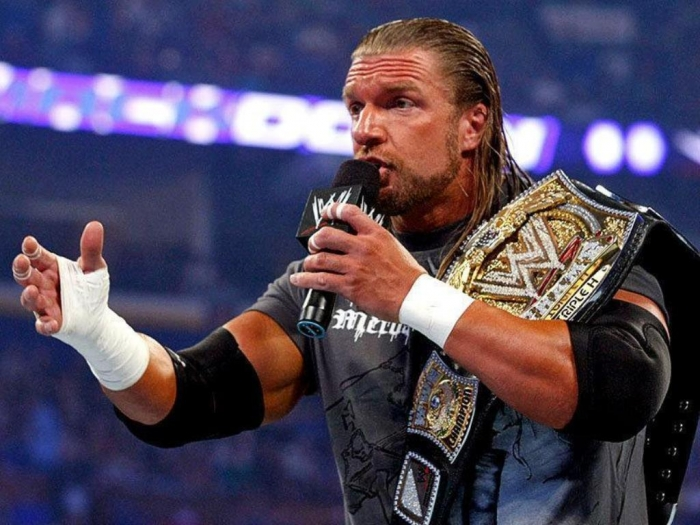 WWE-Superstar-Triple-H-On-Mic Top 10 Most Famous Wrestlers in WWE