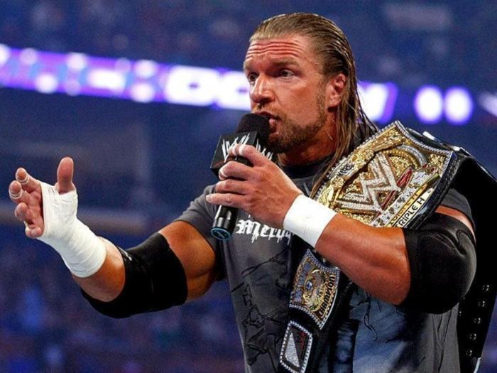 WWE-Superstar-Triple-H-On-Mic Top 10 Most Famous Wrestlers in WWE