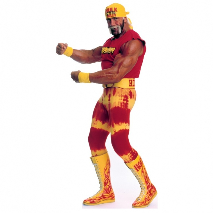 World-Wrestling-Entertainment-Hulk-Hogan-Life-Size-Cardboard-Stand-Up Top 10 Most Famous Wrestlers in WWE