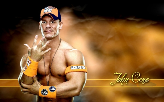Wrestler-John-Cena-HD-Wallpaper-Wide Top 10 Most Famous Wrestlers in WWE